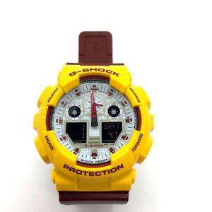 Used Men's Casio GShock Watch GA-100CS-9A